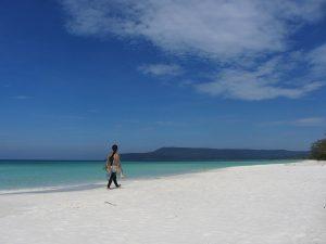 Île au Cambodge